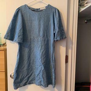 Zara: Jean dress